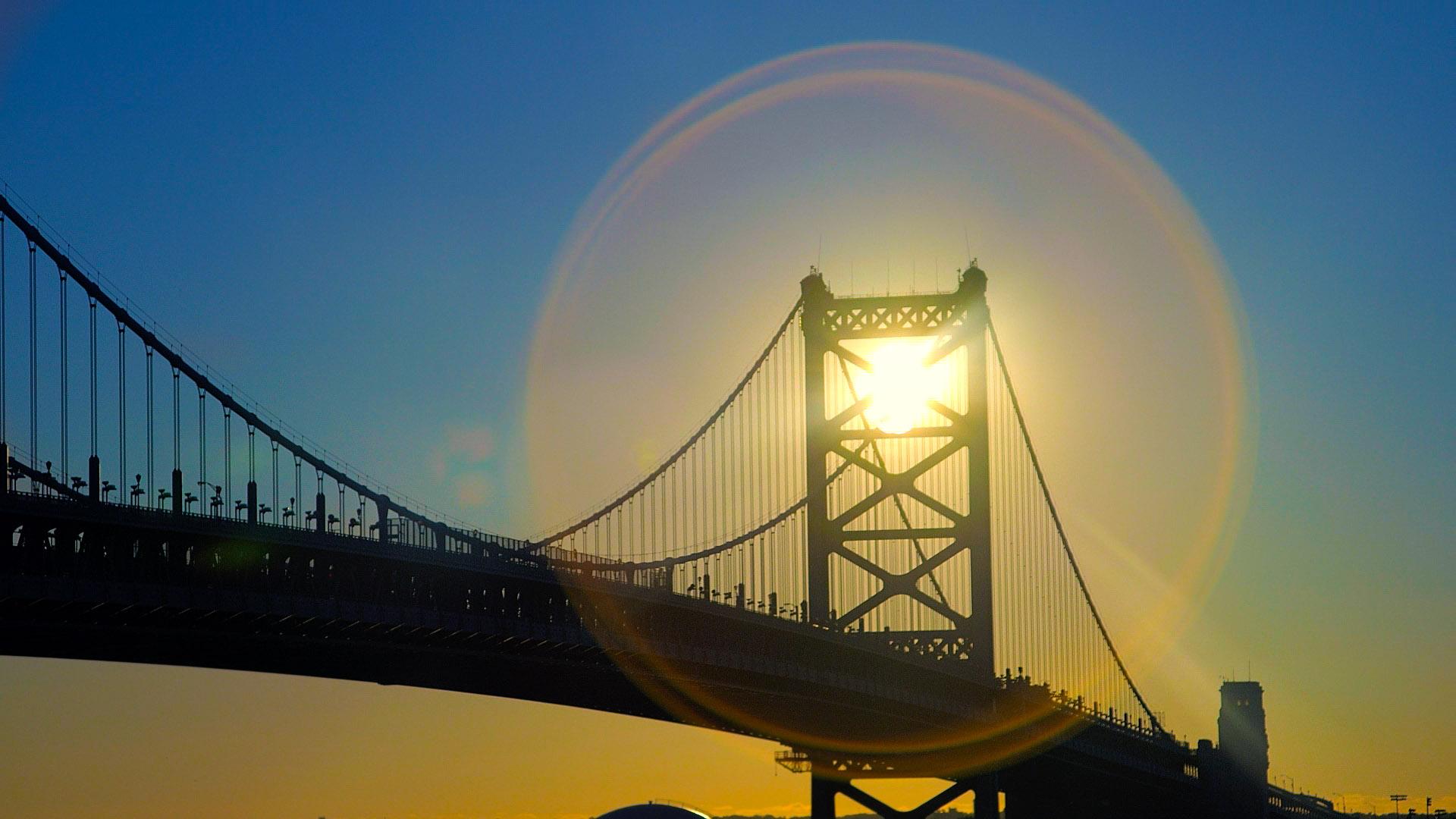 BUA_Ben Franklin Bridge_Philly_Sun - Copy